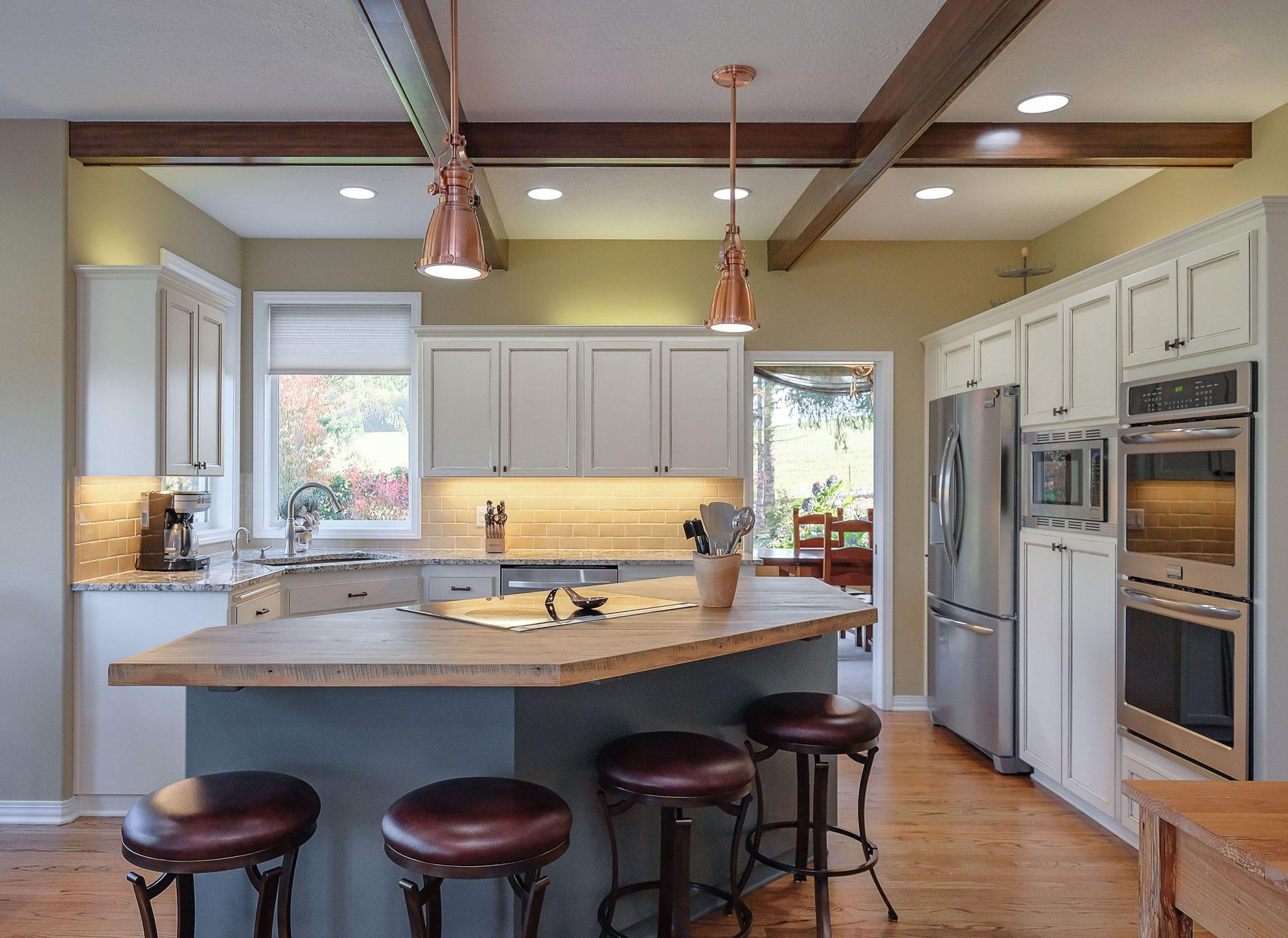 Complete kitchen remodel and redesign.
